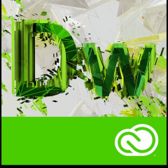 Adobe Dreamweaver CC Multiple Platforms Multi European Languages License Renewal 1 лицензия 1 ПК на 1 год (65270358BA01A12)