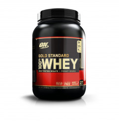 Optimum Nutrition Gold Standard 100% Whey 909 грамм - Клубника