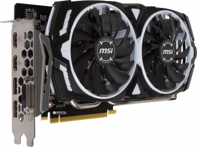 MSI PCI-Ex GeForce GTX 1060 Armor OCV1 3GB GDDR5 (192bit) (1544/8008) (DVI, 2 x HDMI, 2 x DisplayPort) (GTX 1060 GAMING X)