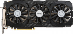 MSI PCI-Ex GeForce GTX 1080 Duke OC 8GB GDDR5X (256bit) (1708/10108) (DVI, HDMI, 3 x DisplayPort) (GTX 1080 DUKE 8G OC)