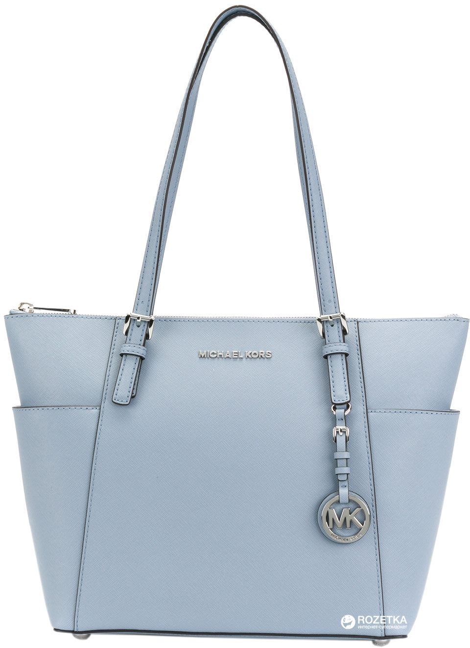 Женская сумка кожаная Michael Kors Jet Set Item 30F2STTT8L487 ca441bb1018