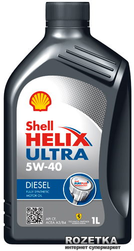 Моторное масло Shell Helix Ultra Diesel 5W-40 1 л