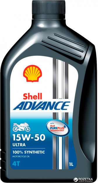 Моторное масло Shell Advance 4T Ultra 15W-50 1 л