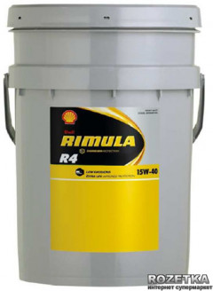 Моторное масло Shell Rimula R4X 15W-40 20 л
