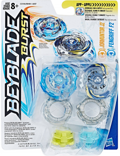 Игровой набор Hasbro Beyblade 2 Волчка Jormuntor j2 and Fengriff f2 (B9491_C2356)