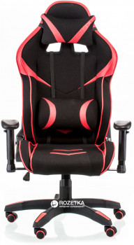 Кресло Special4You ExtremeRace 2 Black/Red (E5401)