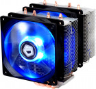 Кулер ID-COOLING SE-904TWIN Blue LED