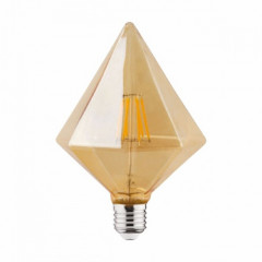 Лампа светодиодная Horoz Electric Filament Rustic Pyramid-6 (001-035-0006)