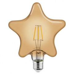 Лампа светодиодная Horoz Electric Filament Rustic Star-6 (001-031-0006)