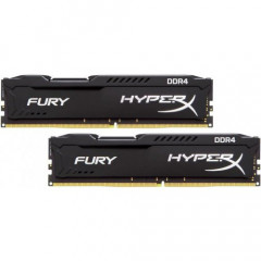 ОЗУ Kingston DDR4 8GB (2x4GB) 3466Mhz HyperX Fury Black (HX434C19FB2K2/16)