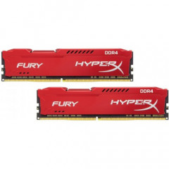 ОЗУ Kingston DDR4 8GB (2x4GB) 3466Mhz HyperX Fury Red (HX434C19FR2K2/16)