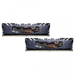 ОЗУ G.Skill DDR4 16GB (2x8GB) 2400Mhz Flare X Black for AMD (F4-2400C15D-16GFX)
