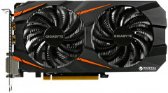 Gigabyte PCI-Ex GeForce GTX 1060 Windforce OC 3072MB GDDR5 (192bit) (1556/8008) (2 x DVI, HDMI, DisplayPort) (GV-N1060WF2OC-3GD)