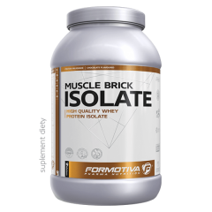 Протеин Formotiva MUSCLE BRICK ISOLATE 2000 г, Вкус клубника
