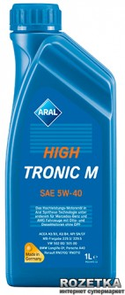Моторное масло Aral HighTronic M SAE 5W-40 1 л (150B6A)