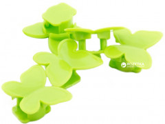 Органайзер для кабеля ExtraDigital Cable Clips butterfly CC-948 5 шт Green (KBC1713)