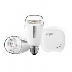 Sengled Element Plus Starter Kit 10W Wi-Fi +ZigBee White (Hub + 2xLED Light) (K-Z02-1H-2A60EUE27)