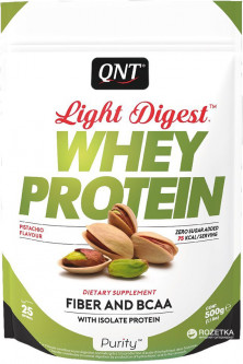 Протеин QNT Light Digest Whey Protein 500 г Фисташка (5425002407780)