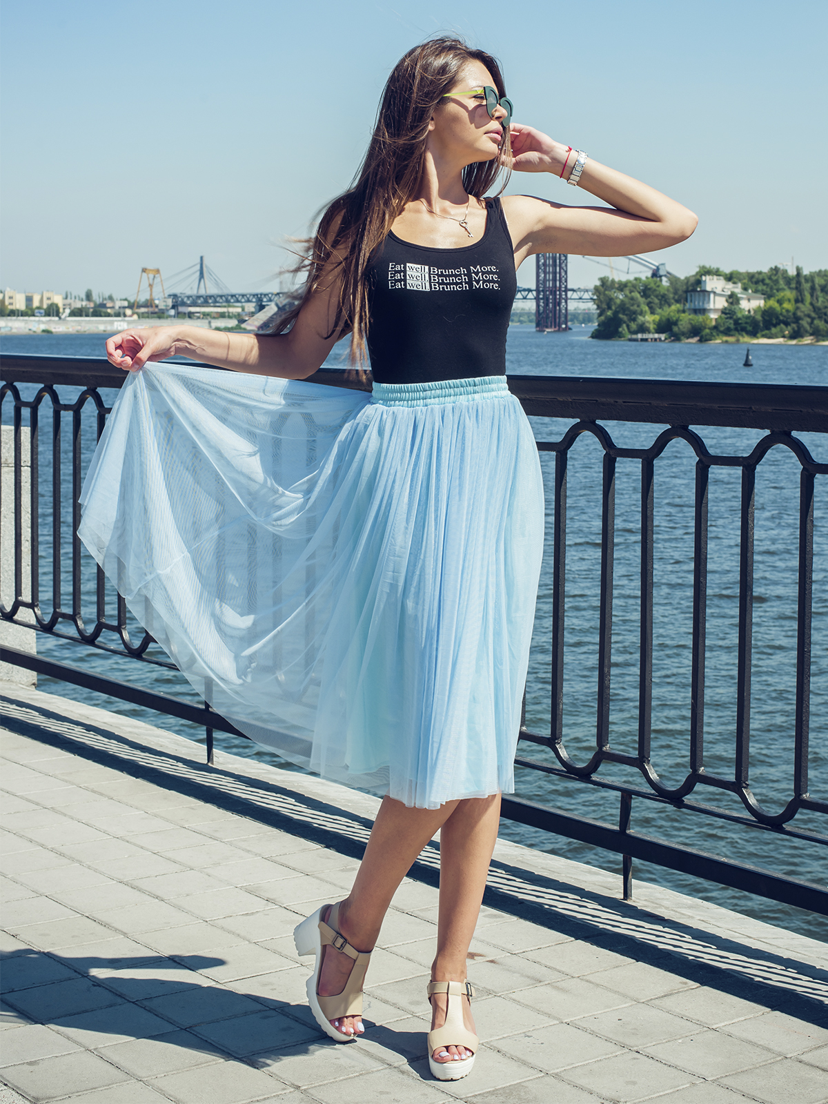 c816c4c2d33 Юбка-пачка Тю-Тю! AIRSKIRT Casual XS S голубая(TYASCG-