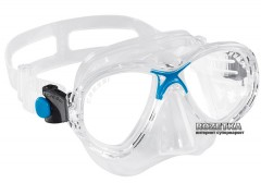 Маска Cressi-Sub Marea Junior Transparent/Blue (DN283020)