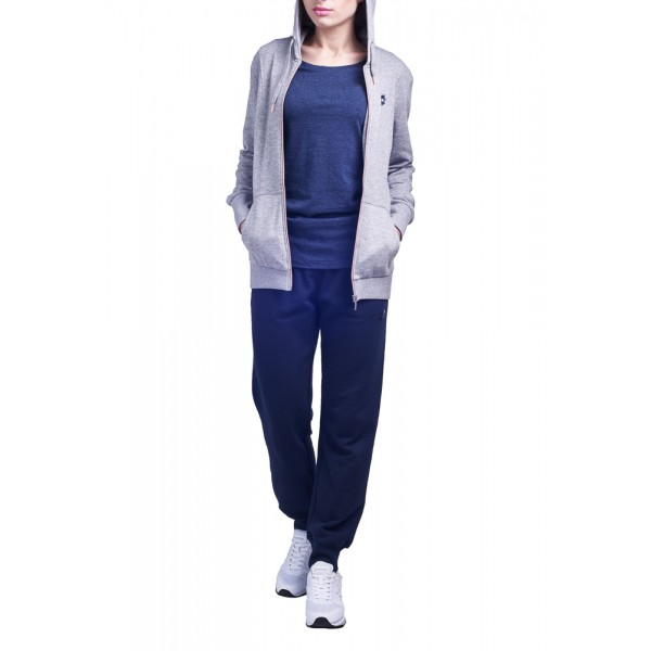 af8078e58fb Костюм женский Lotto MERYL V SUIT HD FL W XL GREY DARK MELANGE NAVY S8800
