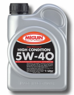 Моторное масло MEGUIN HIGH CONDITION SAE 5W-40 1л 31991