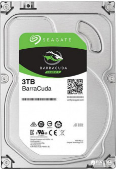 Жесткий диск Seagate Barracuda 3TB 5400rpm 256MB ST3000DM007 3.5 SATAIII