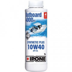 Моторное масло IPONE Marine 4 Outboard 4000 RS 10W-40 1L