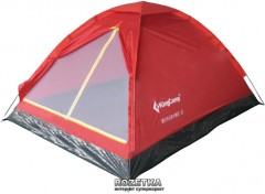Палатка KingCamp Monodome 2 Red (KT3016 Red)