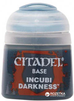 Краска акриловая Games Workshop Citadel Base Incubi Darkness 12 мл (5011921026388)
