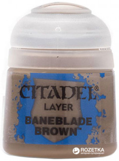 Краска акриловая Games Workshop Citadel Layer Baneblade Brown 12 мл (5011921027774)