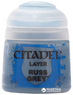 Краска акриловая Games Workshop Citadel Layer Russ Grey 12 мл (5011921027866)