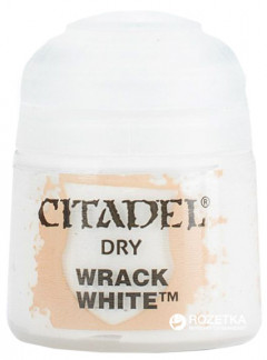 Краска акриловая Games Workshop Citadel Dry Wrack White 12 мл (5011921067220)