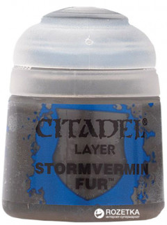 Краска акриловая Games Workshop Citadel Layer Stormvermin Fur 12 мл (5011921027910)