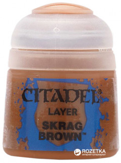 Краска акриловая Games Workshop Citadel Layer Skrag Brown 12 мл (5011921027699)