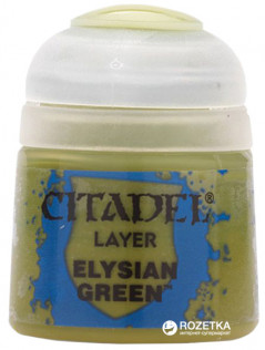 Краска акриловая Games Workshop Citadel Layer Elysian Green 12 мл (5011921027590)