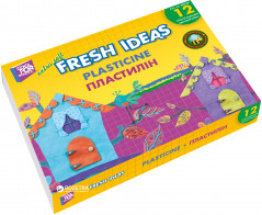 Пластилин Cool for school Fresh Ideas 12 цветов 300 г (CF60218)