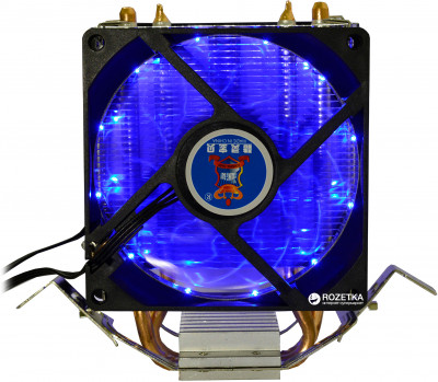 Кулер Cooling Baby R90 BLUE LED 2