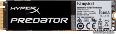 Kingston HyperX Predator 240GB M.2 PCIe 2.0 x4 MLC (SHPM2280P2/240G)