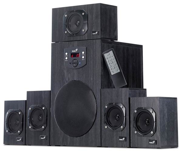 Vigor 5 1 surround speaker system for pc