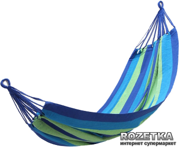 Гамак KingCamp Canvas Hammock Dark Blue (KG3752/42) - зображення 1