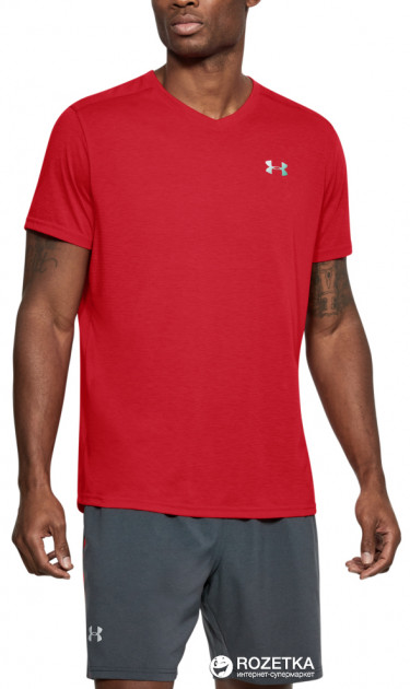 Футболка Under Armour Threadborne Streaker V Neck 1283380-629 M (191168967547)