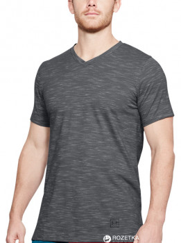 1f6b008649371 Футболка Under Armour Sportstyle Core V Neck Tee 1306492-040 L  (191169554159)