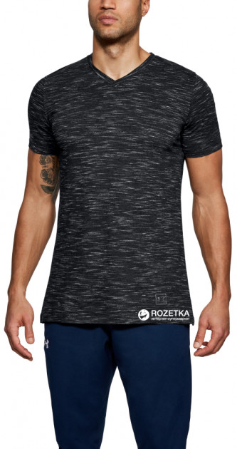 Футболка Under Armour Sportstyle Core V Neck Tee 1306492-001 S (191169554609)