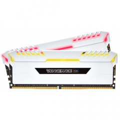 ОЗУ Corsair DDR4 16GB (2x8GB) 3000Mhz Vengeance LED White (CMR16GX4M2C3000C15W)
