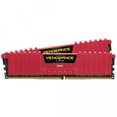 ОЗУ Corsair DDR4 8GB (2x4GB) 3200Mhz Vengeance LPX Red (CMK8GX4M2B3200C16R)