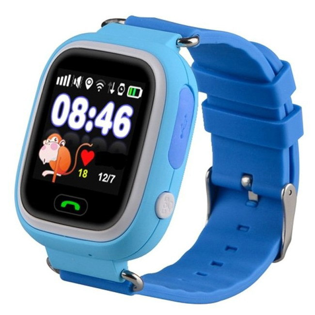 Смарт-часы Smart Baby Watch Q90S Blue 6a6bc4c99eb93