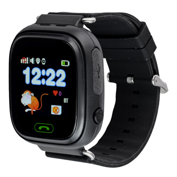 Смарт-часы Smart Baby Watch Q90S Black ccf78477111ac