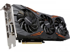 Gigabyte PCI-Ex GeForce GTX 1080 Windforce OC 8GB GDDR5X (256bit) (1632/10010)