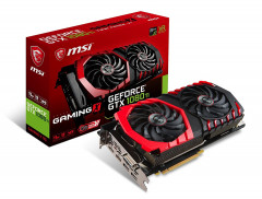 MSI PCI-Ex GeForce GTX 1080 Ti Gaming X 11GB GDDR5X (352bit) (1544/10108)